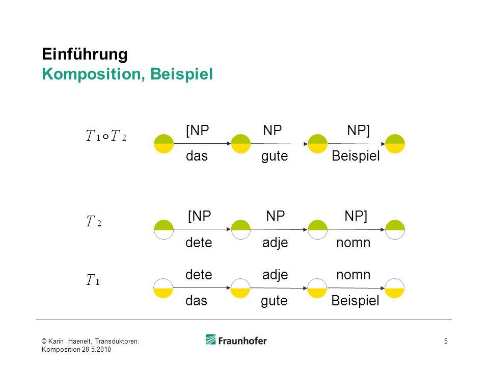 Einführung Komposition, Beispiel
