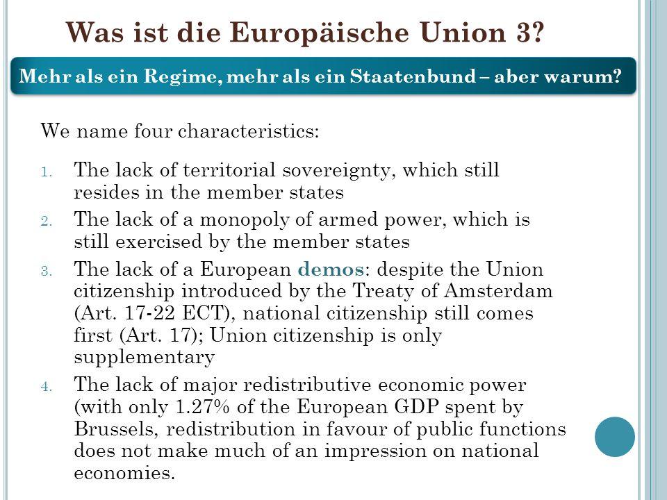 Was ist die Europäische Union 3