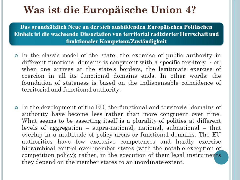Was ist die Europäische Union 4
