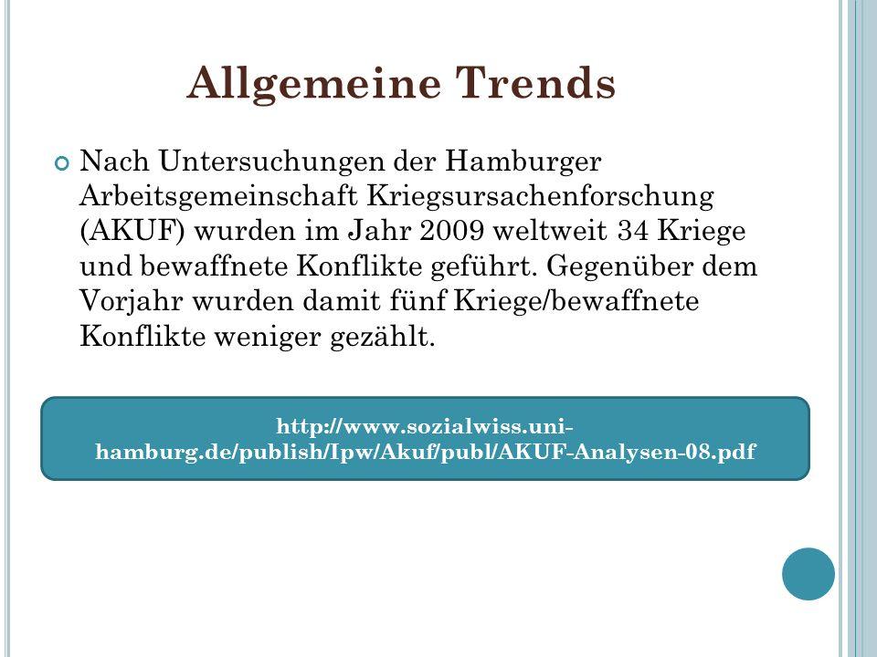 Allgemeine Trends