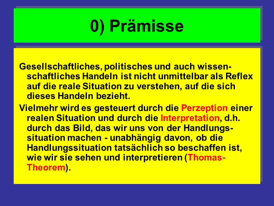0) Prämisse