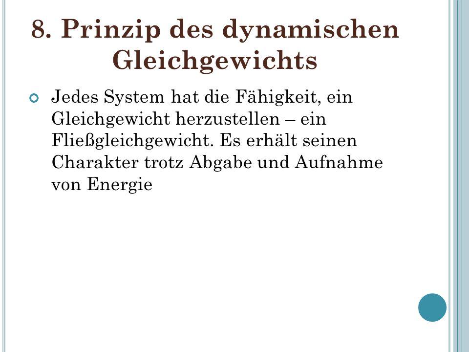 8. Prinzip des dynamischen Gleichgewichts