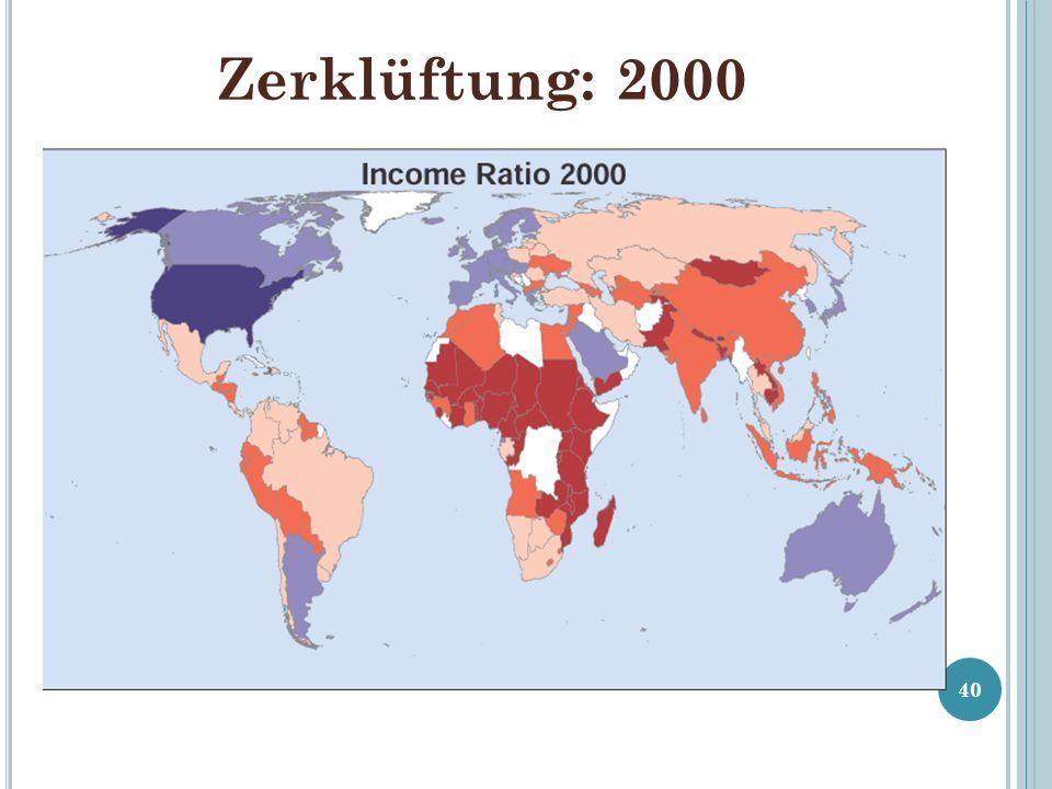 Zerklüftung: 2000