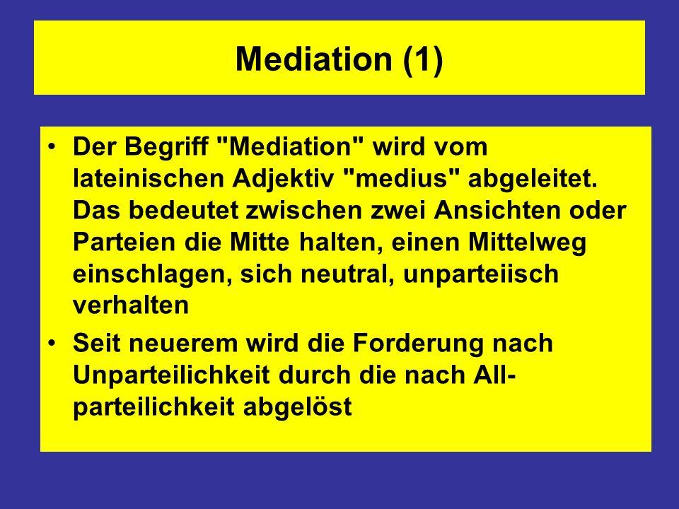 Mediation (1)