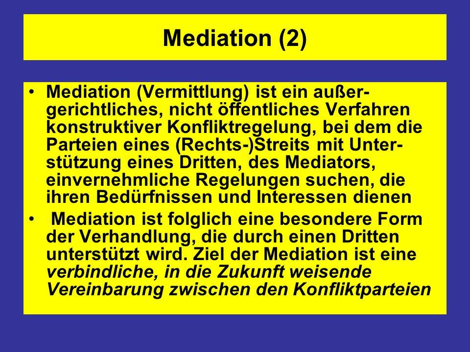 Mediation (2)