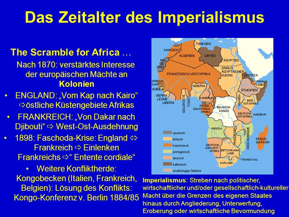 Das Zeitalter des Imperialismus