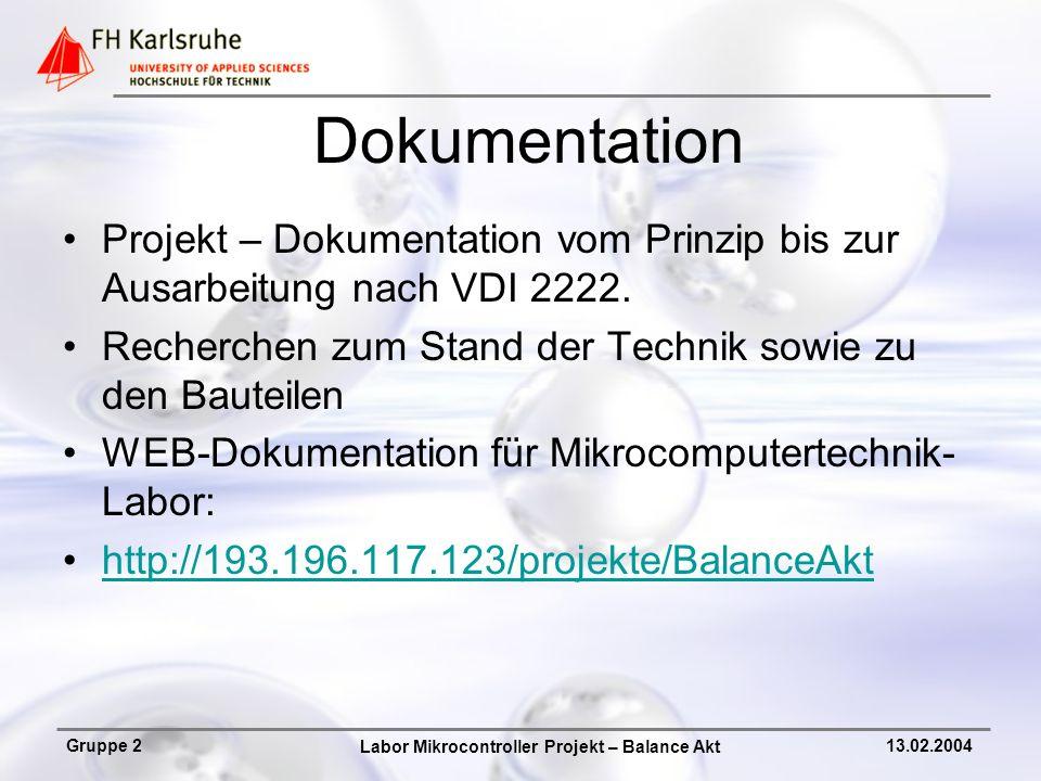 Dokumentation Projekt – Dokumentation vom Prinzip bis zur Ausarbeitung nach VDI 2222. Recherchen zum Stand der Technik sowie zu den Bauteilen.