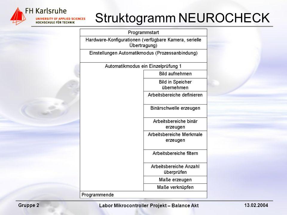Struktogramm NEUROCHECK