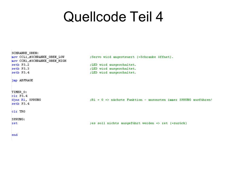 Quellcode Teil 4