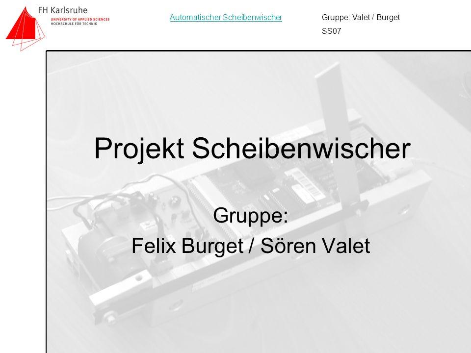 Projekt Scheibenwischer