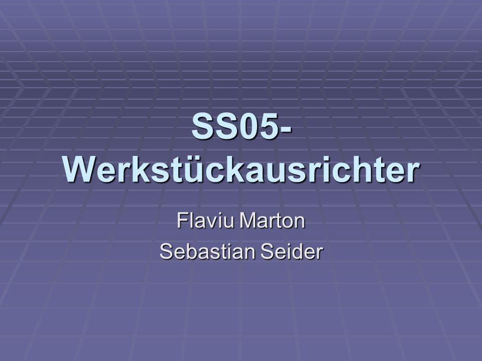 SS05- Werkstückausrichter