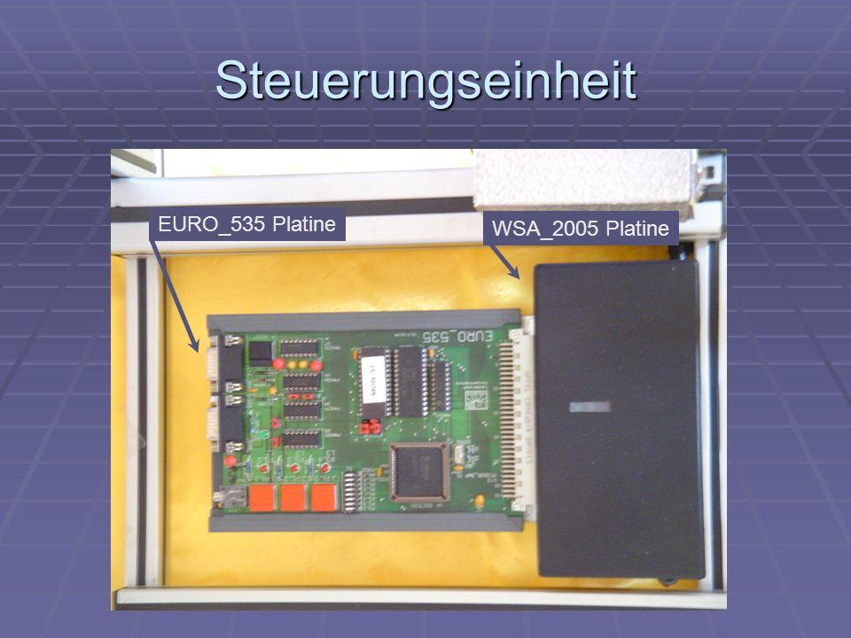Steuerungseinheit EURO_535 Platine WSA_2005 Platine
