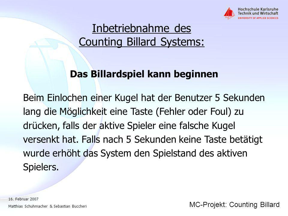 Counting Billard Systems: