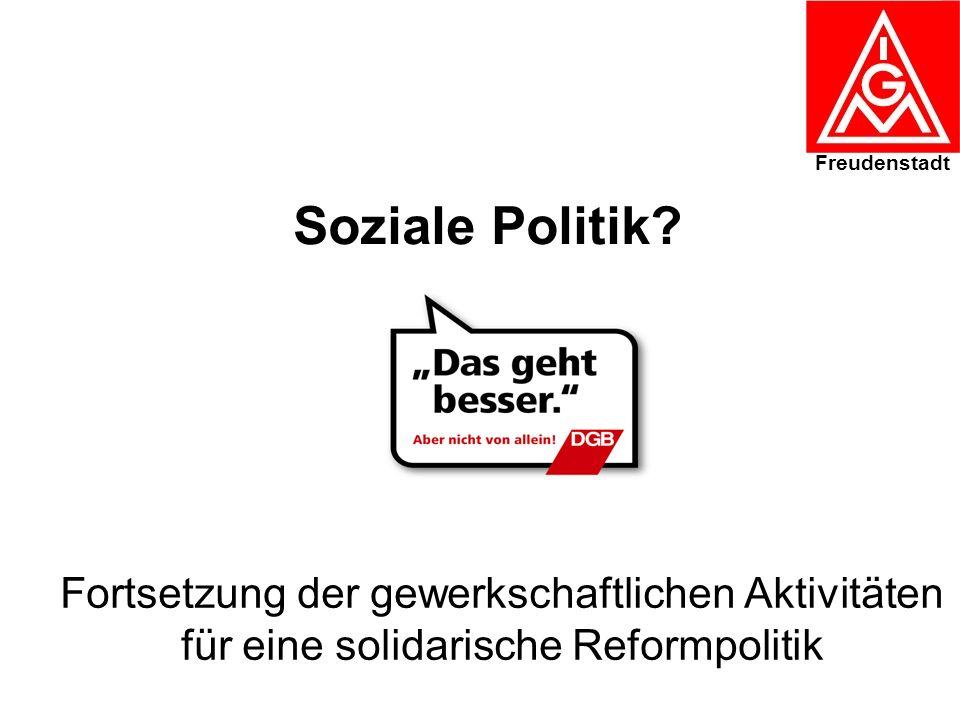 Freudenstadt Soziale Politik.