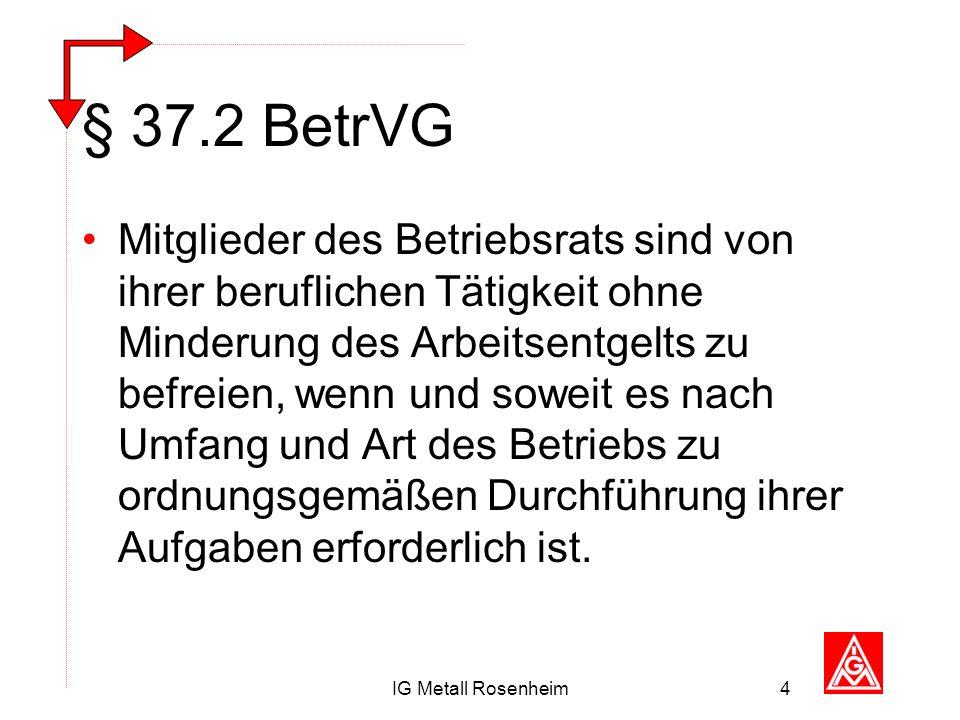 § 37.2 BetrVG