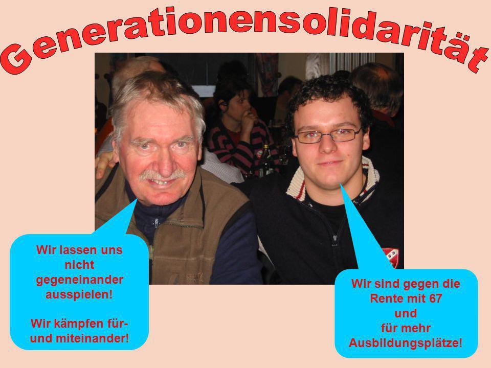 Generationensolidarität