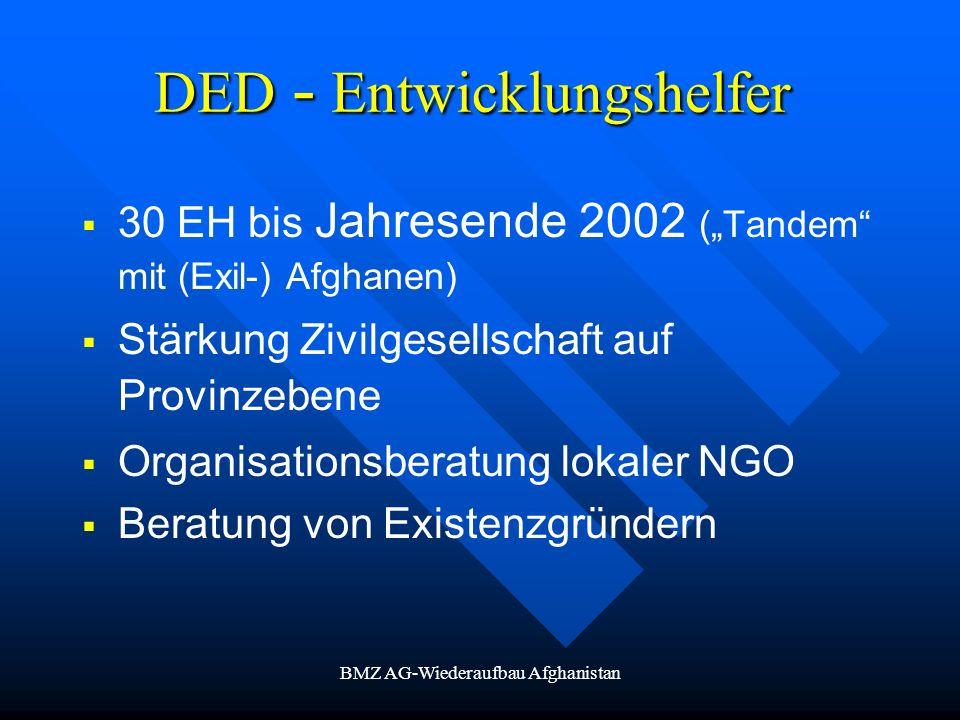 DED - Entwicklungshelfer