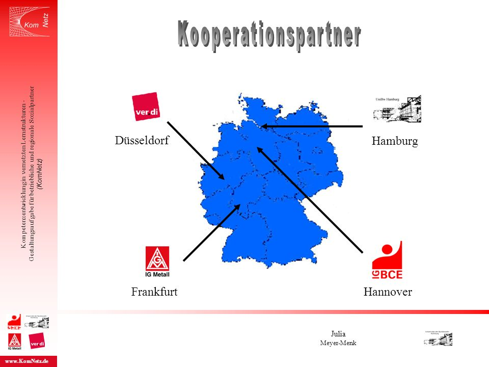 Kooperationspartner Düsseldorf Hamburg Frankfurt Hannover