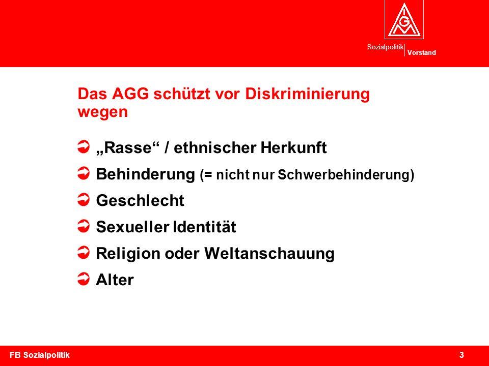 Das AGG schützt vor Diskriminierung wegen