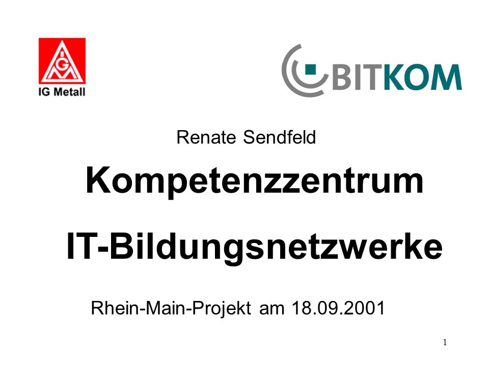 IT-Bildungsnetzwerke
