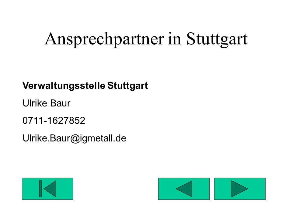 Ansprechpartner in Stuttgart