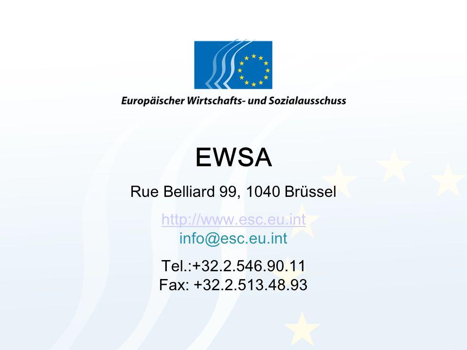 http://www.esc.eu.int info@esc.eu.int