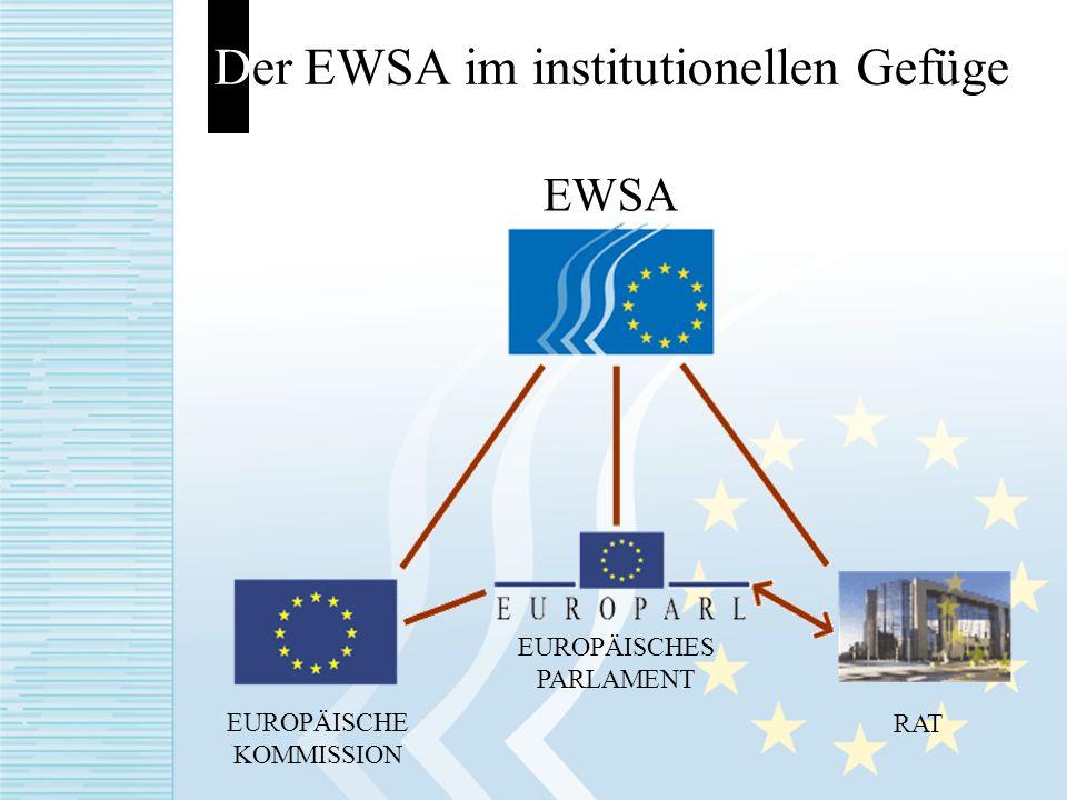 Der EWSA im institutionellen Gefüge