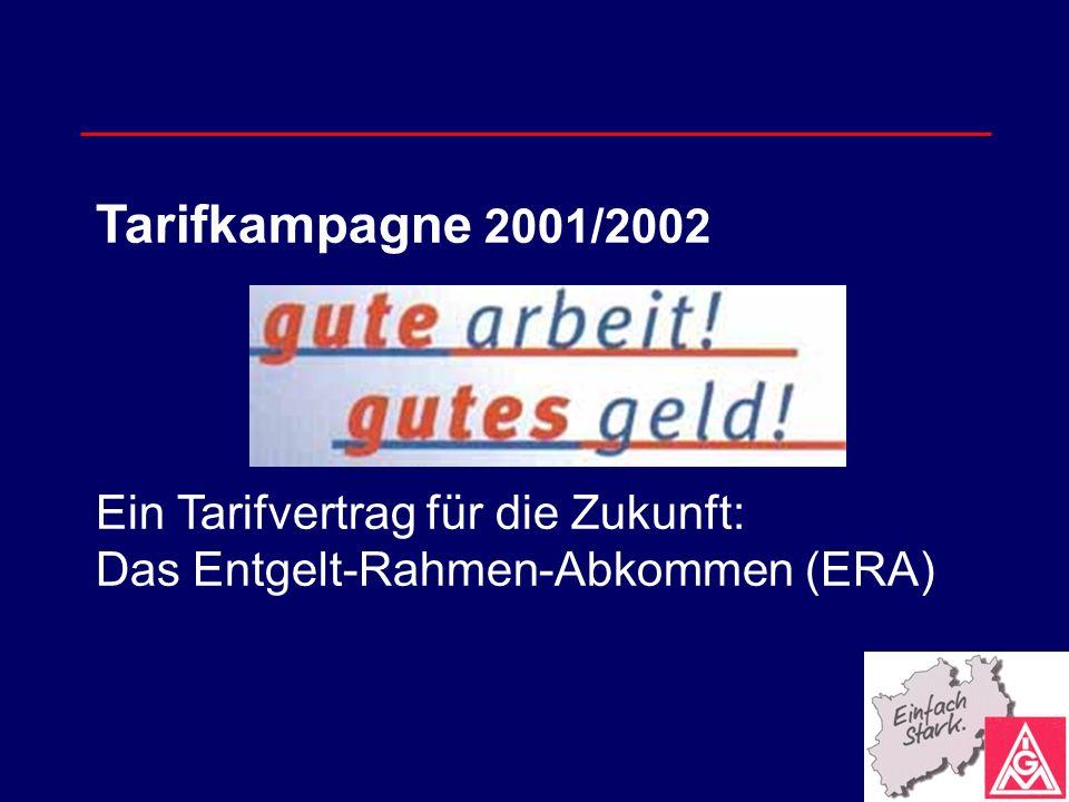 Ein Tarifvertrag für die Zukunft: Das Entgelt-Rahmen-Abkommen (ERA)
