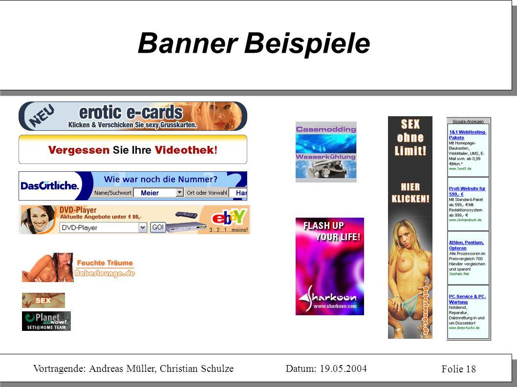 Banner Beispiele