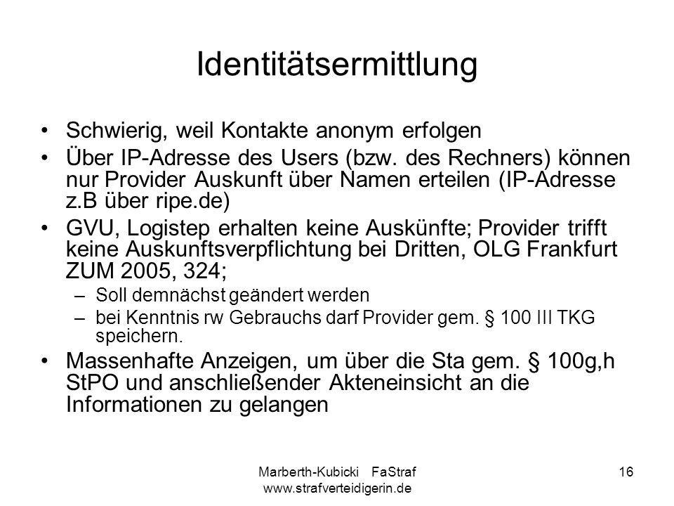 Identitätsermittlung