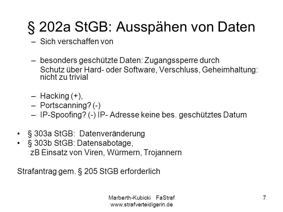 § 202a StGB: Ausspähen von Daten