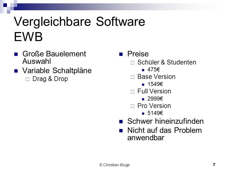 Vergleichbare Software EWB