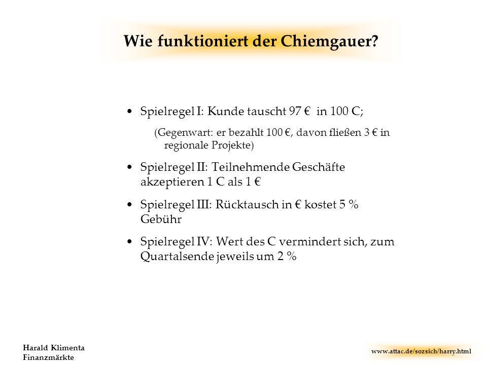 Wie funktioniert der Chiemgauer