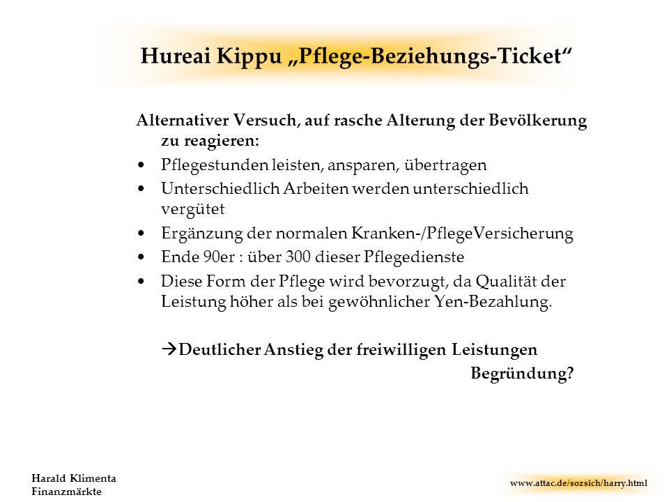 "Hureai Kippu ""Pflege-Beziehungs-Ticket"