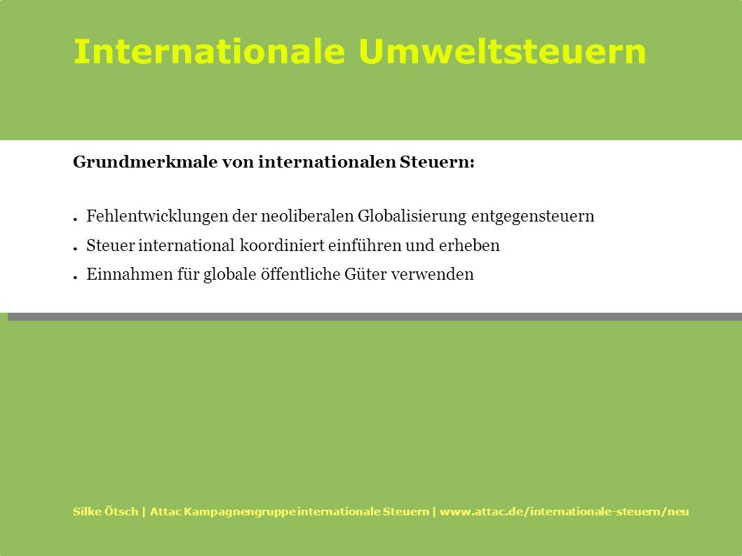 Internationale Umweltsteuern
