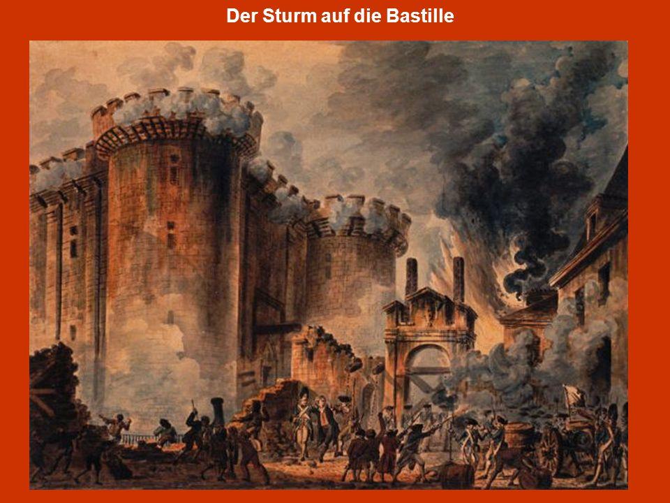 Der Sturm auf die Bastille