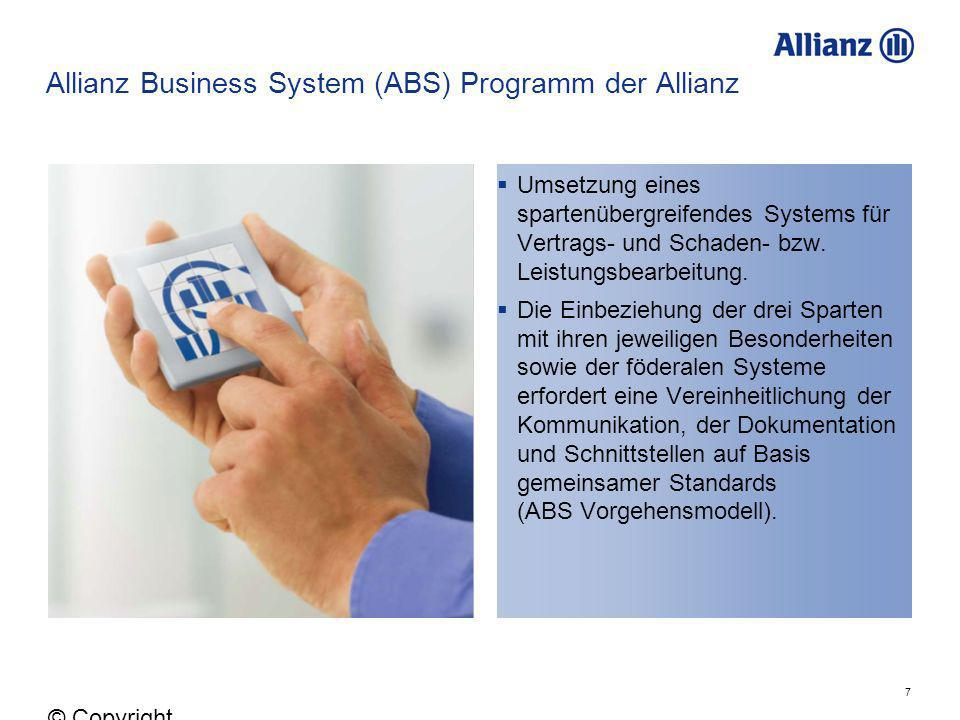 Allianz Business System (ABS) Programm der Allianz