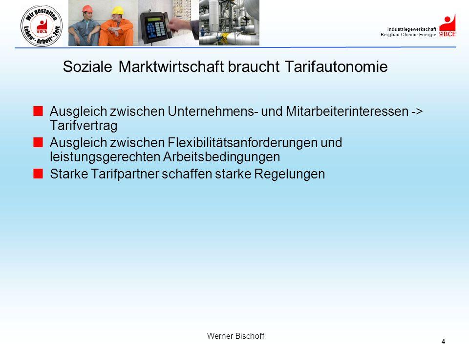 Soziale Marktwirtschaft braucht Tarifautonomie