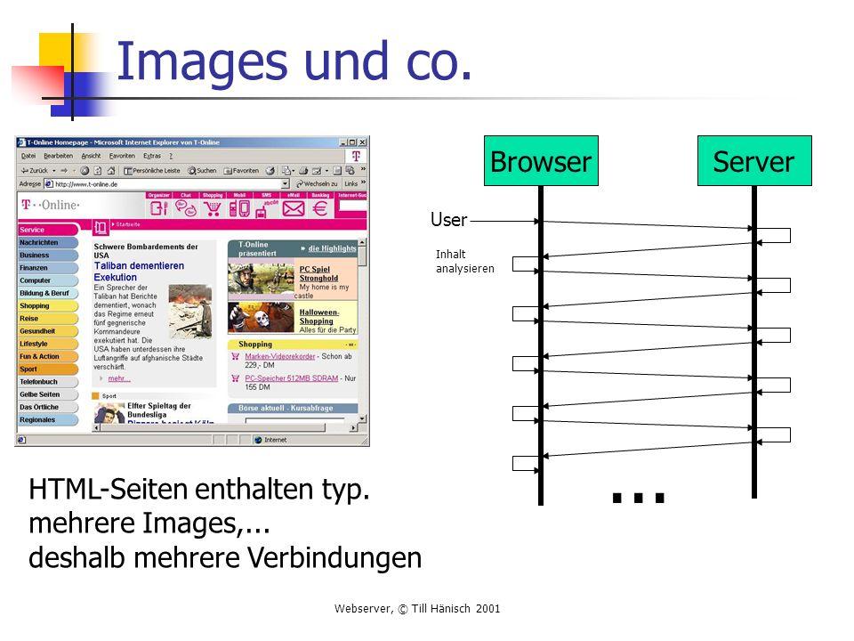 ... Images und co. Browser Server HTML-Seiten enthalten typ.