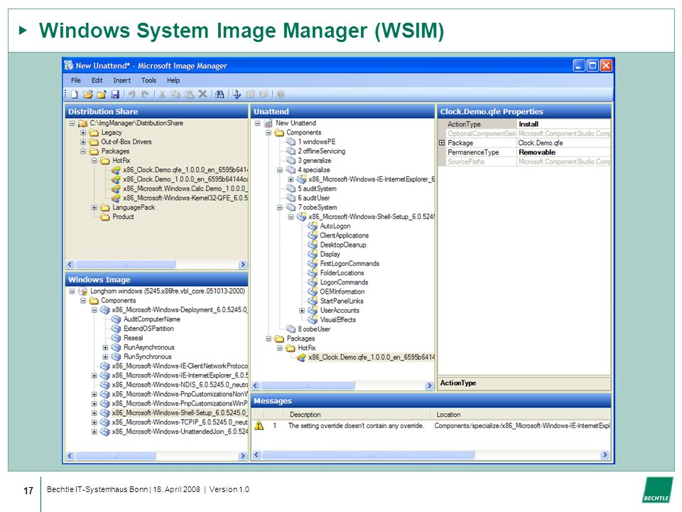 Windows System Image Manager (WSIM)
