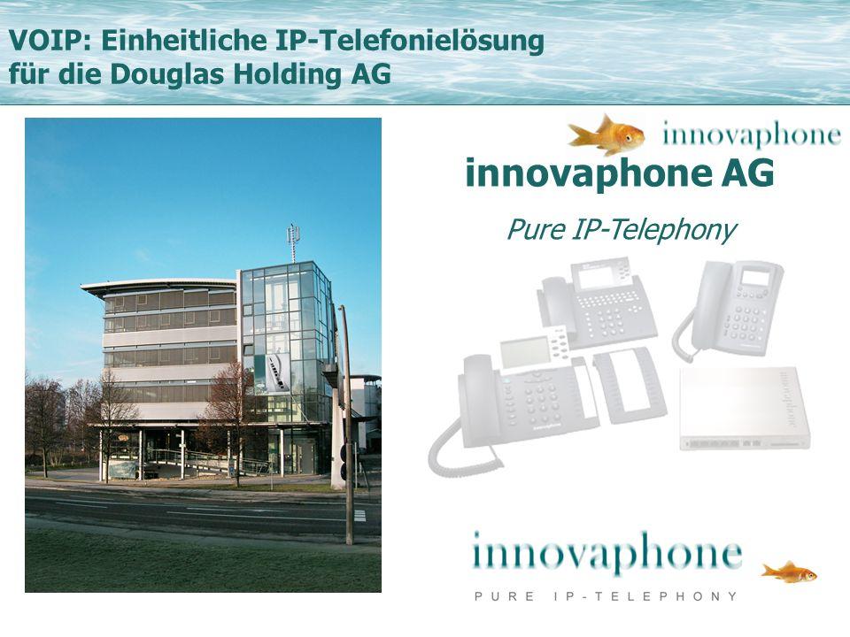 innovaphone AG VOIP: Einheitliche IP-Telefonielösung