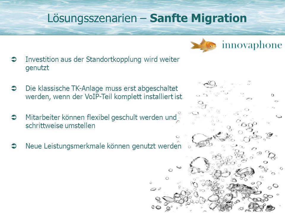 Lösungsszenarien – Sanfte Migration
