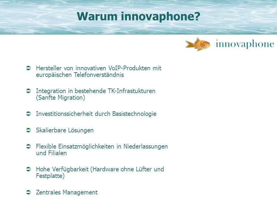 Warum innovaphone Hersteller von innovativen VoIP-Produkten mit europäischen Telefonverständnis.