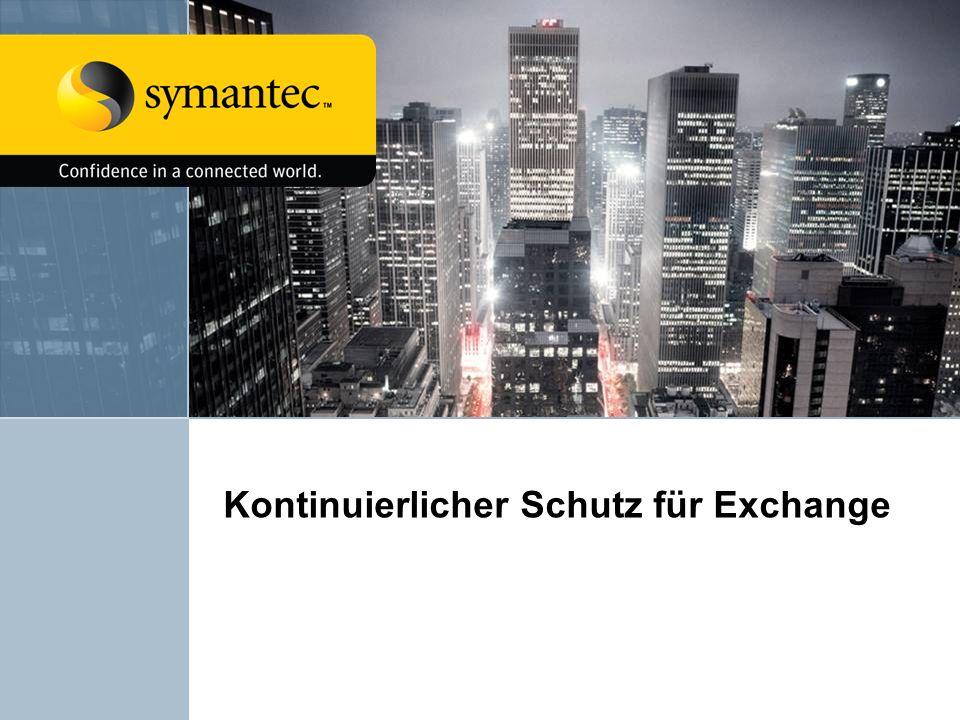 Kontinuierlicher Schutz für Exchange
