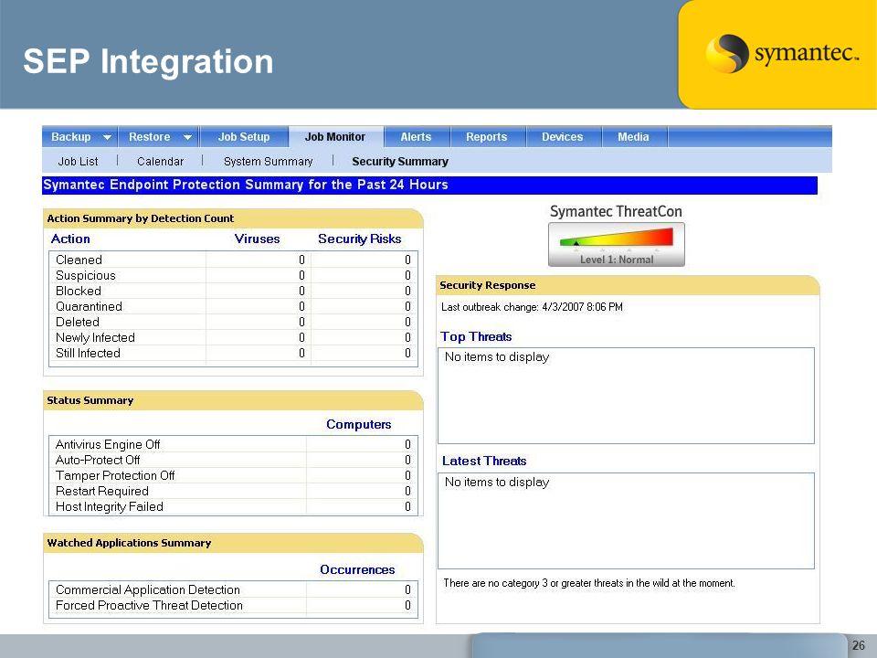 SEP Integration 26