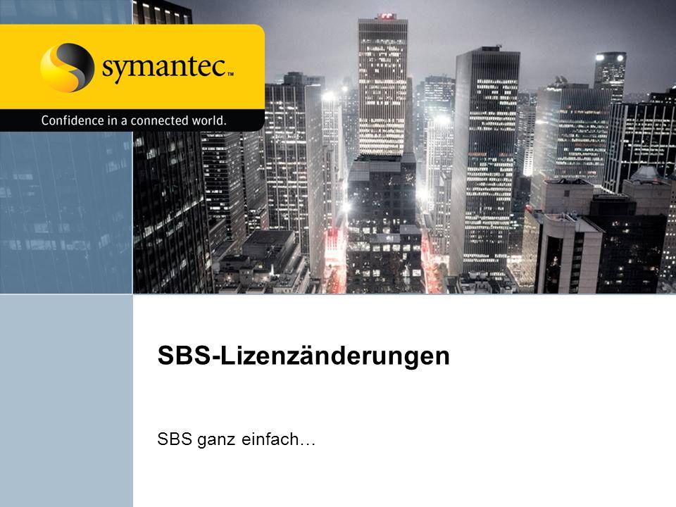SBS-Lizenzänderungen