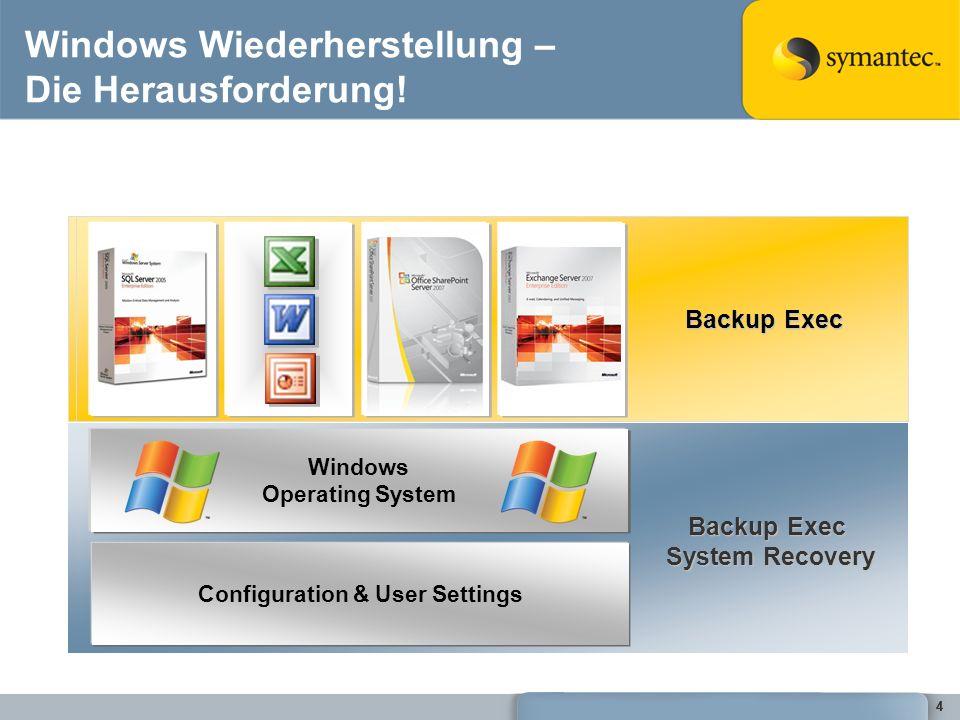 Windows Wiederherstellung – Die Herausforderung!