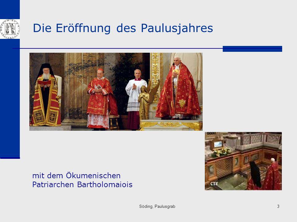 Die Eröffnung des Paulusjahres