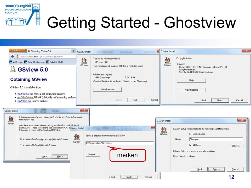 Getting Started - Ghostview
