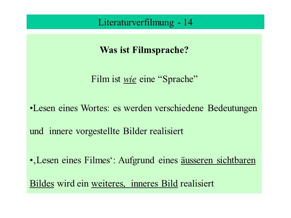 Literaturverfilmung - 14